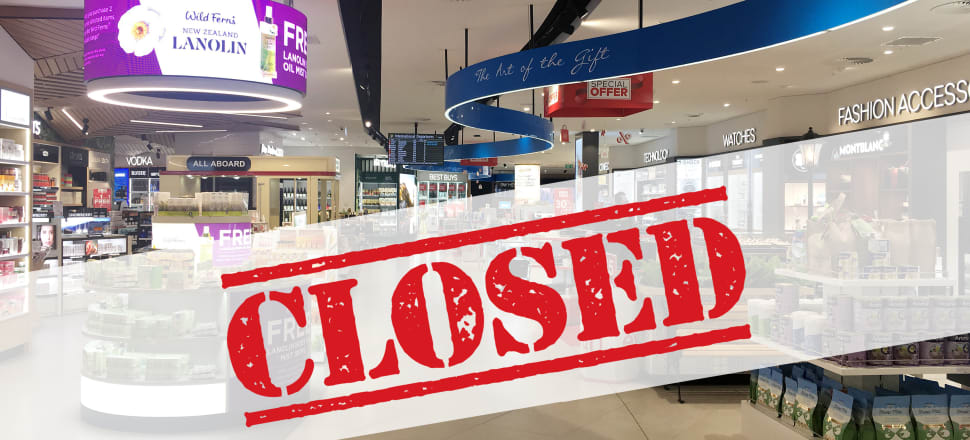 Covid has seen duty free shopping go from hero (in the retail world) to zero. Photo: Getty Images and Paul Enticott
