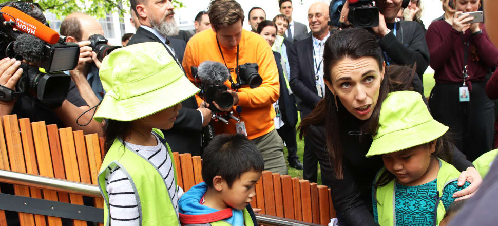 Self-appointed Minister for Child Poverty Reduction Jacinda Ardern says her commitment is to make New Zealand the best place in the world to be a child, but a new global report shows she's still far off achieving that goal. Photo: Lynn Grieveson