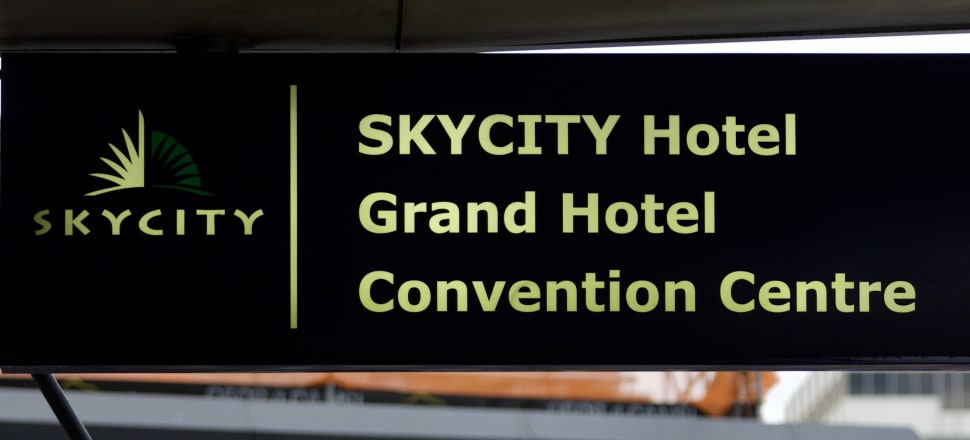 SkyCity Entertainment Group tempts investors with the prospect of a dividend next year. Photo: John Sefton