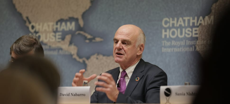 WHO special envoy on Covid-19 David Nabarro has spoken to Newsroom about New Zealand's response to Covid-19 and how we can prepare for the next pandemic. Photo: Chatham House/Flickr