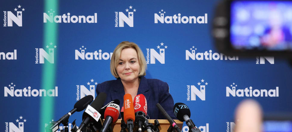 Judith Collins is yet to spark her campaign into life.  Photo: Lynn Grieveson