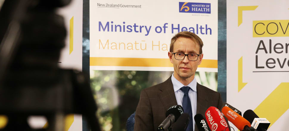 "Director-General of Health Ashley Bloomfield has said officials are on ""orange"" alert after the discovery of a new ""sub-cluster"" of Covid-19 cases in Auckland. Photo: Lynn Grieveson"