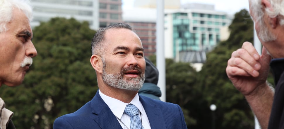NZ Public Party founder Billy Te Kahika Jr has sought to front-foot concerns about his party's financial record-keeping. Photo: Lynn Grieveson.