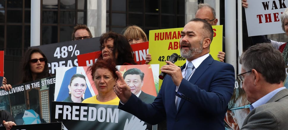 NZ Public Party founder Billy Te Kahika Jr has been cleared by the Electoral Commission of any law breach over a donations complaint. Photo: Lynn Grieveson.