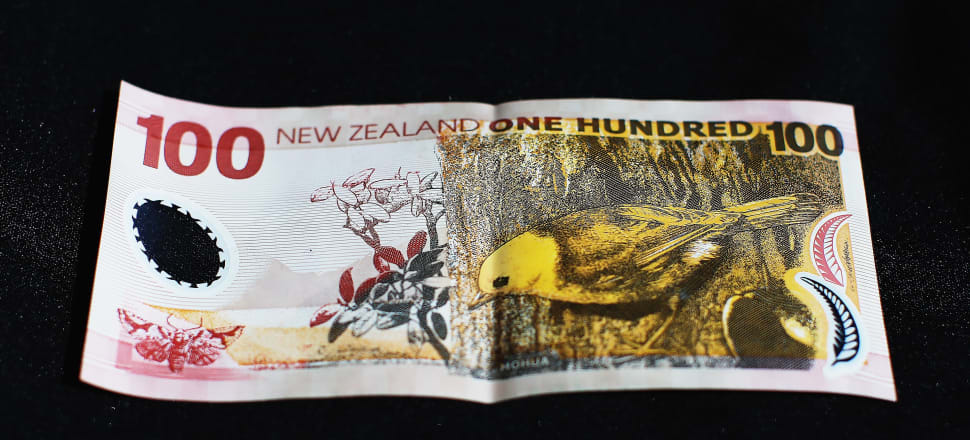 The New Zealand Treasury was able to borrow at a negative interest rate for the first time this week. It issued $50 million worth of an inflation indexed bonds maturing in 2040 at an average yield of minus 0.1032 percent. That meant there were 22 successful bids from fund managers where they paid the Government money to lend their money to the Government. Photo: Getty