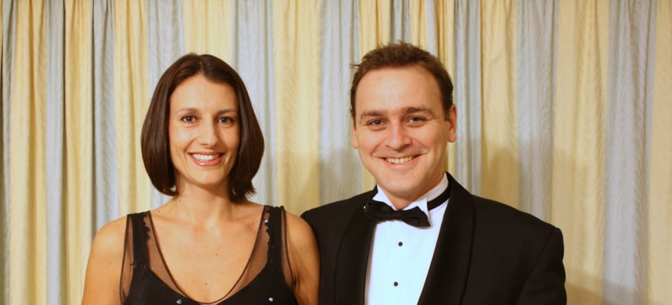 Matt Vickers with his late wife Lecretia Seales, who fought for the right to legally end her life after being diagnosed with terminal cancer. Photo: Supplied