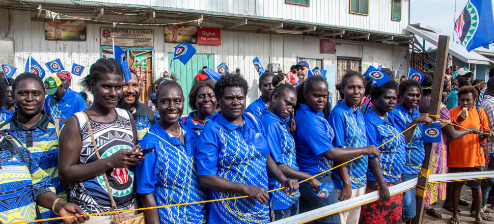 Voters in the Pacific island chain of Bougainville flocked to the polls on November 23 at the start of a long-awaited referendum on independence from Papua New Guinea. Photo: Getty Images