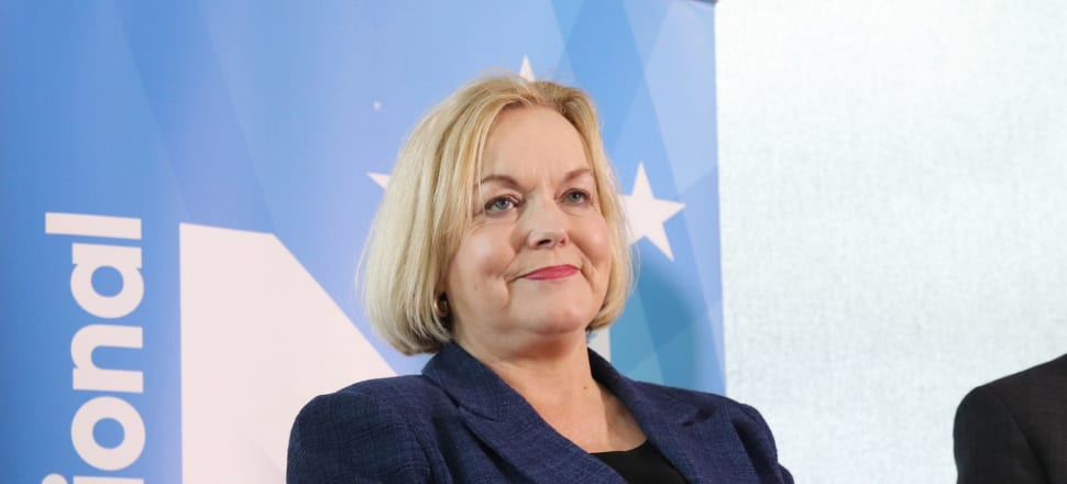 National leader Judith Collins criticised the decision to keep the South Island at Level 2, saying there had not been a positive Covid-19 cases since the end of May. Photo: Lynn Grieveson