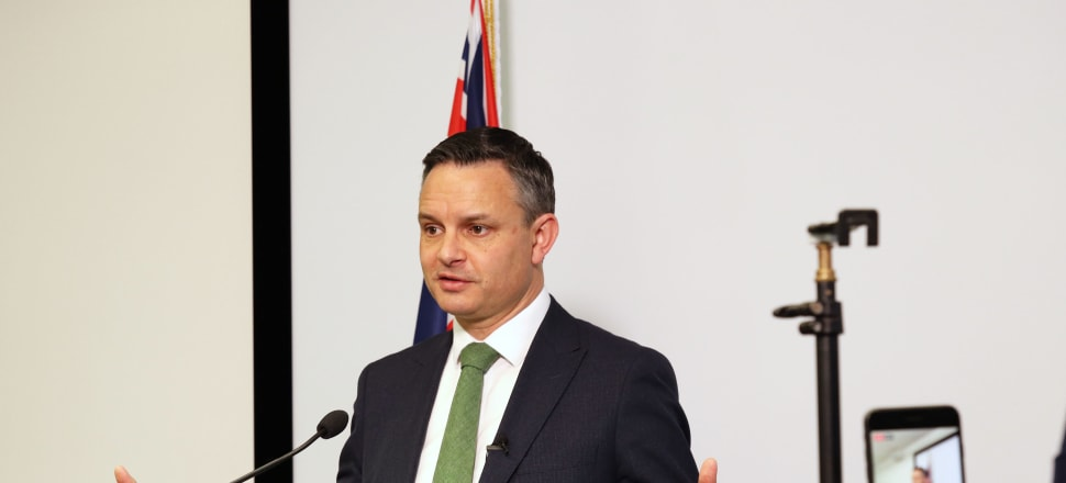 "Climate Change Minister James Shaw says the new policy ""will bring climate risks and resilience into the heart of financial and business decision making"". Photo: Lynn Grieveson"