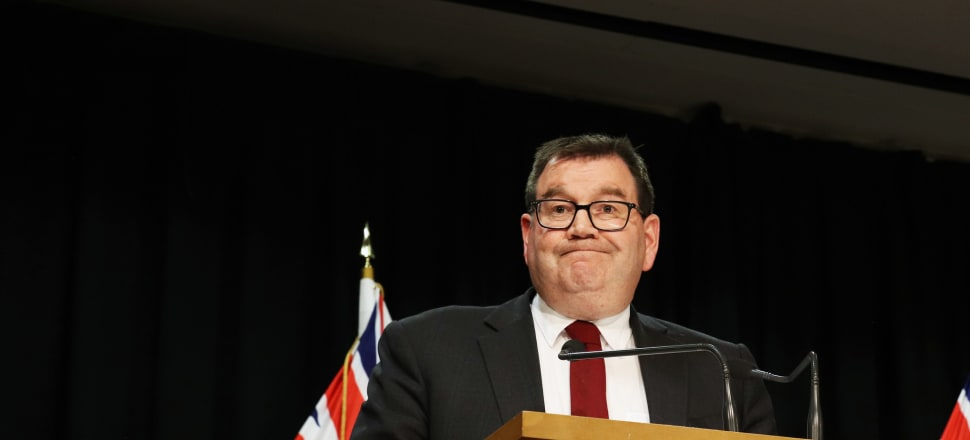 Finance Minister Grant Robertson is unlikely to get much joy out of the numbers in Treasury's PREFU release on Wednesday afternoon. Photo: Lynn Grieveson.