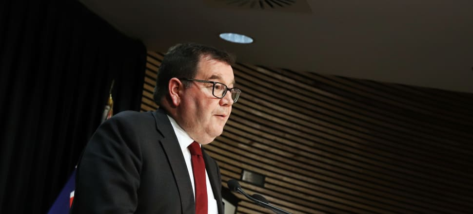 Finance Minister Grant Robertson says the PREFU figures show the benefits of the Government's approach to Covid-19. Photo: Lynn Grieveson.