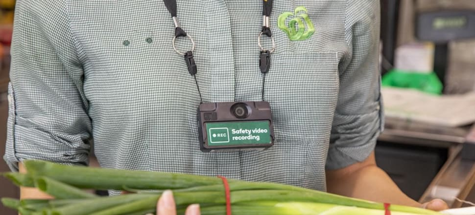 Woolies trials body cameras for workers